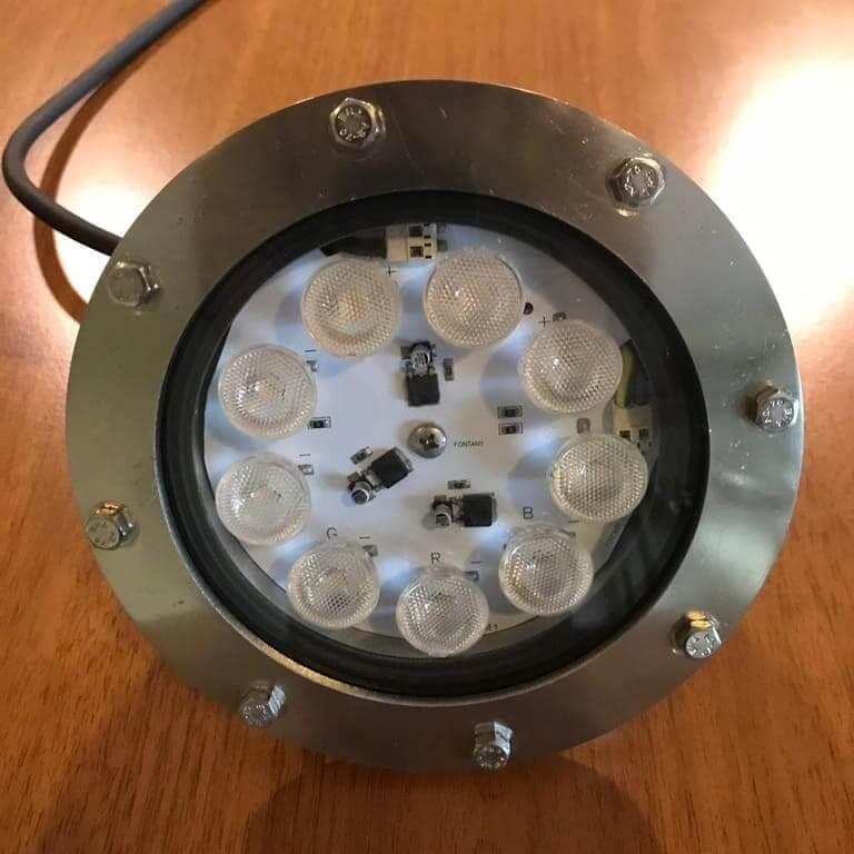 9 Led 9 Watt Su Altı Aydınlatma Armatürü RGB