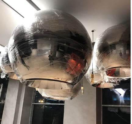 1250 mm paslanmaz çelik led aydınlata armatürü